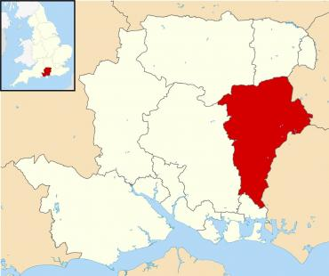 East Hampshire Map